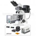 China Infinite Binocular Fluorescence Microscope 3W LED Lamp B and G Filter A16.1032 wholesale