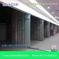 China Prefabricated house modern building material sandwich wall panel on sale