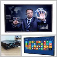 Riotouch  75 and 84 inch interactive multitouch panel for education and business Manufactures