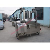China Electric Deep Fryer Snack Food Production Line 300kg Per Hour For Bugles Snacks on sale