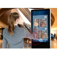 47 inch touch screen kiosk 1920 x 1080 LED free Standing Digital Signage DDW-AD4701SNT Manufactures