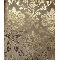 China Flocking material roll Wallpaper for Living Room TV Background decoration wholesale
