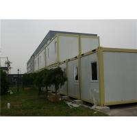 Environmental Friendly Prefab Container House for Office Manufactures