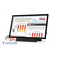 China Free Standing Interactive Touch Screen Rackmount Lcd Monitor Remote Control on sale
