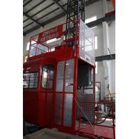China Double Cage Construction Material Hoist Lifting Equipment 36 M / Min 60HZ Ketong SC200 200TD on sale