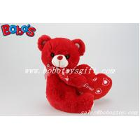 China Customized Big Red Heart Teddy Bear Toy As Engagement gifts or Wedding Gifts on sale