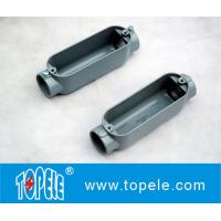 China Aluminum Die Cast Conduit Body , Threaded C Type With Cover / Outlet Box wholesale