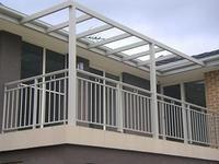 Black Or Customized Aluminum Walk Boards / Aluminum Fence Easily Assembled