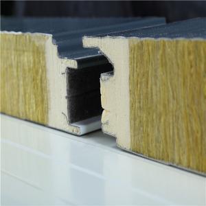 China Anti Corrosion 100mm Metal Sandwich Panels Galvanzied Steel Sheet on sale
