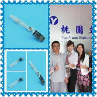 China ID name card holder clip|Metal clip on sale