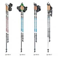 China Nordic Walking Stick aluminum 7075 Trekking Poles  Telescopic Climbing Equipment Aluminum  Hiking Trekking Poles wholesale
