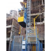 Double Cage Construction Hoist Elevator 3200kg With High Speed Manufactures