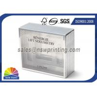 Serum , Cream , Treatments Packaging Rigid Gift Box With Transparent PVC / PET Sleeve Manufactures
