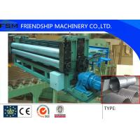 China 5m/min Metal Steel Culvert Pipe Making Machine Water Conservancy Project 1250mm Width wholesale