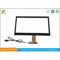 China 4096*4096 Projected Capacitive Touch Panel 14 Inch Ten Points With Usb Controller wholesale