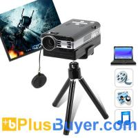 China Pico Pro - Mini LCoS Projector For Computers (VGA, 800x600, 1000: 1) on sale