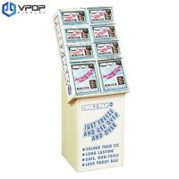 China Spice Food Cardboard Pallet Display , Promotion Retail Cardboard Display Stands on sale