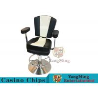 China American High-end Stainless Steel Disc Lifting Metal Bar Chair on sale