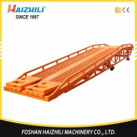 China Qatar hoting selling heavy duty car ramp 8 ton mobile loading dock ramps made in China on sale