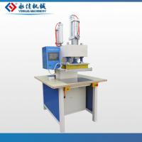 Double head pneumatic t-shirt embossing machine Manufactures