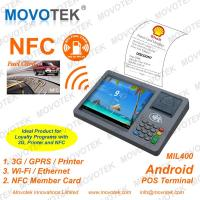 Movotek android tablet rfid reader with WiFi, 3G and Thermal Printer