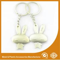 Male and Female Rabbit Couples keychains For Valentine Day Gift Manufactures