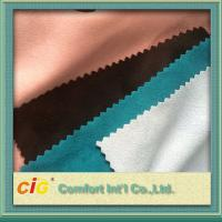 100 to 180g/m2 weight 140 to 150cm width multi-colors and different styles suede fabric Manufactures