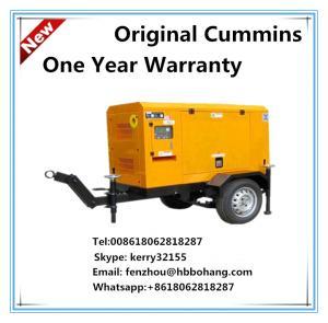 30KW/38KVA trailer generator set powered by Cummins diesel engine with Stamford alternator