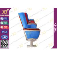 China Air Bus Boeing Air Craft Type Folding Table Theatre Seating Chairs By Aluminum Alloy Structure on sale