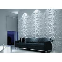 Colored Vinyl 3D Decorative Wall Panels Manufactures