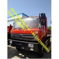 China High qulaity and best price Dongfeng 4*2 LHD dump tipper for stones and coals for sale, China made tipper truck wholesale
