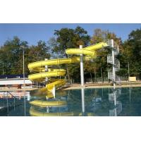 family Spiral Water Slide Manufactures