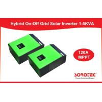 Pure Sine Wave Hybrid Solar Inverter / Solar Grid Tie Inverter For Home , Green Or White Color Manufactures