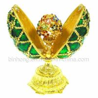 Egg Jewelry Box, Trinket Box (JO-016) Manufactures