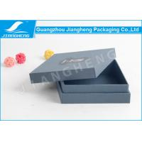 Empty Cardboard Packing Boxes With Logo Spot UV / Wallet Paperboard Gift Boxes Manufactures