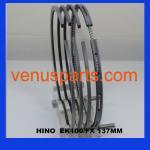 hino ek100 engine piston ring 13011-1010/13011-1011/13011-102 Manufactures