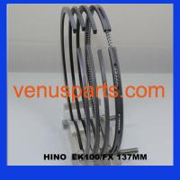 hino ek100 engine piston ring 13011-1010/13011-1011/13011-102 Manufactures