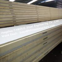 Polystyrene Refrigerator Room Panels 42kg Density With Color Steel / Stainless Steel Plate	External Manufactures