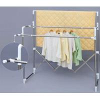 Balcony Metal Heavy Duty Clothes Drying Rack Telescopic Type For Kids Clothes Manufactures