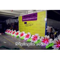10m Inflatable Wedding Flower String with 10 Flowers for Wedding Stage Manufactures