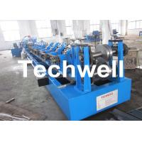 China Automatic Control z Purlin Roll Forming Machine With Auto Punching / Cutting, 20kw 18.5 Ton Easy Operate wholesale