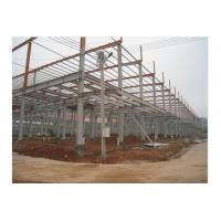 Prefab Office Building , Steel Framing Systems With Steel Structure Galvanized Panel Manufactures