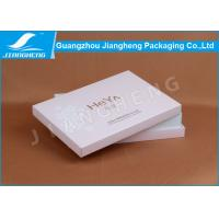 Pink Cardboard Paper Cosmetic Packaging Boxes With EVA Foam Insert Padding Manufactures