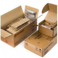 Brown Plain Custom Corrugated Packaging Boxes With Glossy / Matt Lamination Manufactures