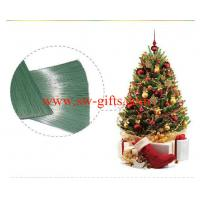 China PET needle for christmas tree christmas wreath christmas gift needle on sale