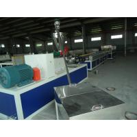 China Window WPC Profile Production Line / Plastic Profile Extruder CE ISO9001 wholesale