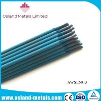 China Few Smoke 5.0*500mm Mild Carbon Steel Welding Rods AWS E6013 GB J421 Electrodes on sale