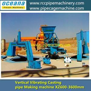 Full-automatic Vertical Vibration Concrete pipe Making machine