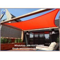 China New Square Rectangle Sun Shade Sails all Sizes on sale