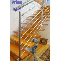 China Indoor modern stairs stainless steel railings system wholesale